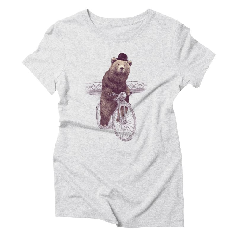 Barnabus the Bear Women's Triblend T-Shirt by ericfan's Artist Shop