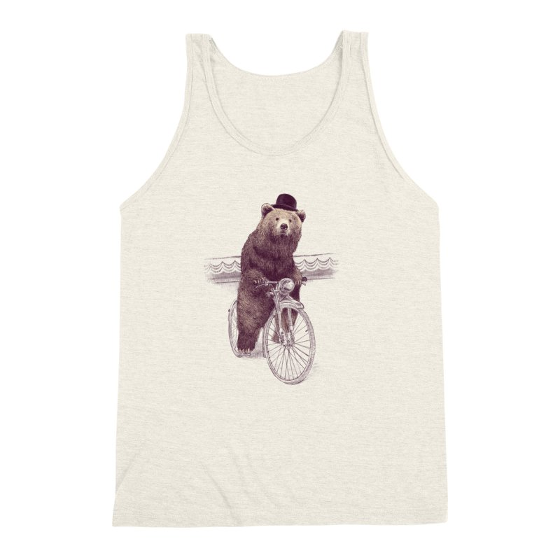 Barnabus the Bear Men's Triblend Tank by ericfan's Artist Shop