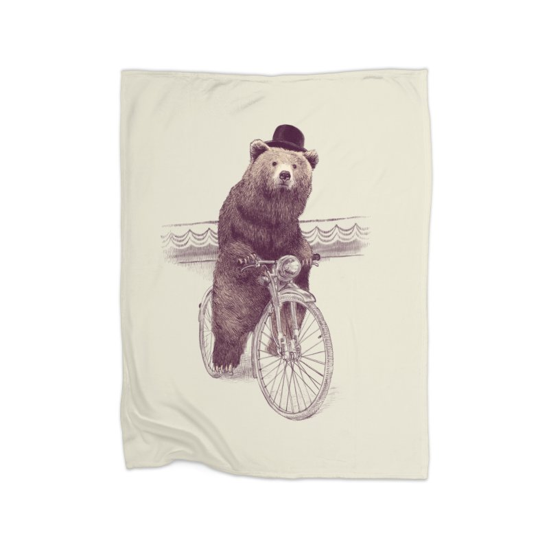 Barnabus the Bear Home Blanket by ericfan's Artist Shop