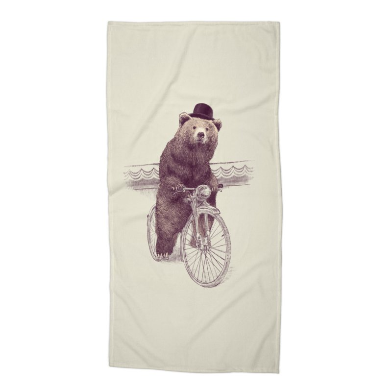 Barnabus the Bear Accessories Beach Towel by ericfan's Artist Shop