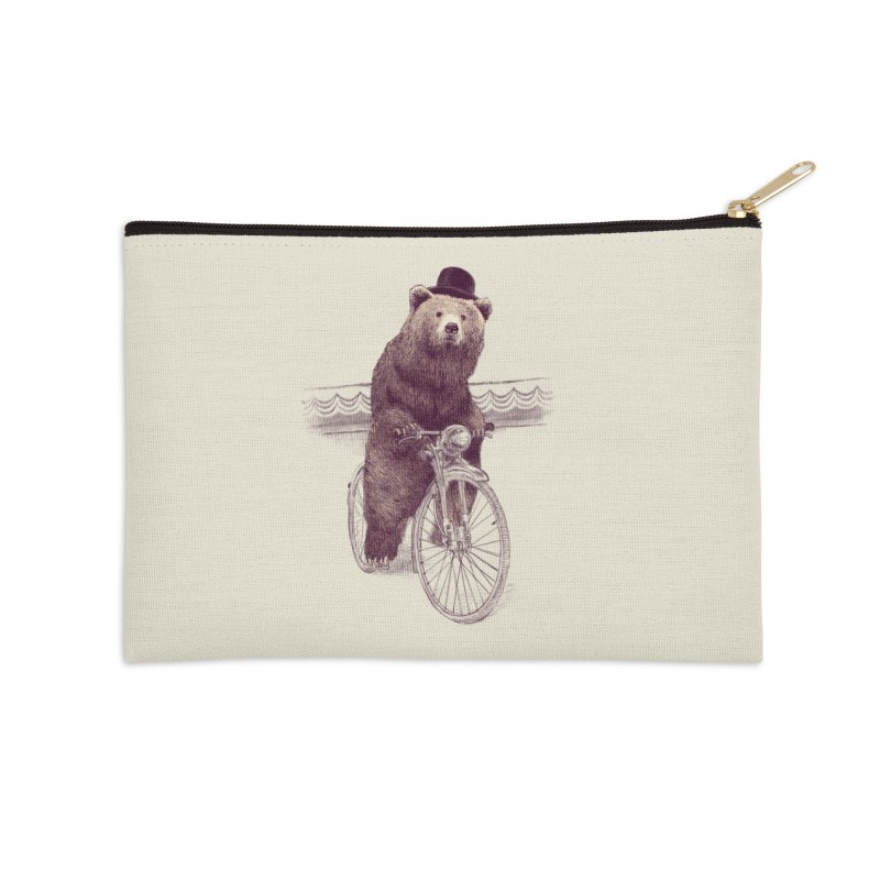 Barnabus the Bear Accessories Zip Pouch by ericfan's Artist Shop