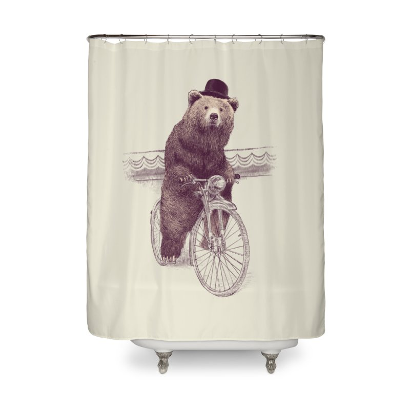 Barnabus the Bear Home Shower Curtain by ericfan's Artist Shop