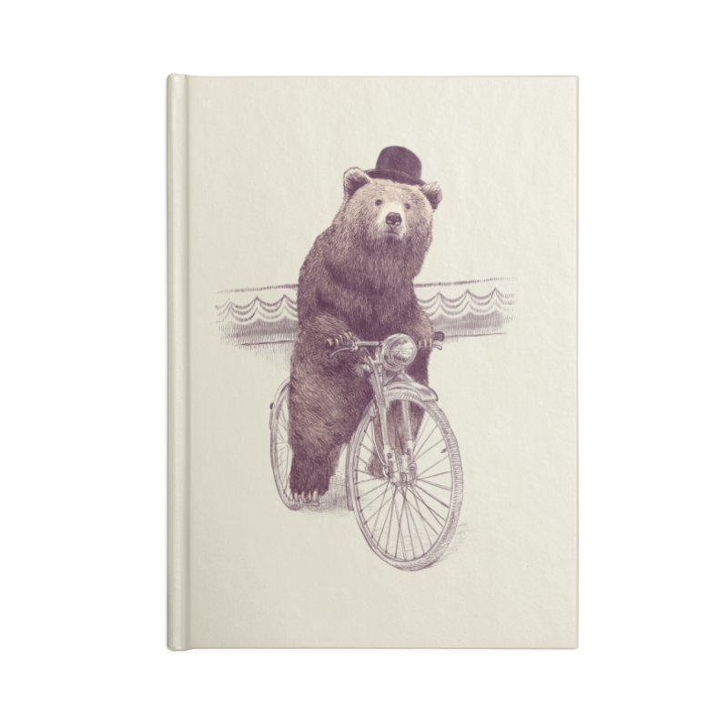 Barnabus the Bear Accessories Notebook by ericfan's Artist Shop