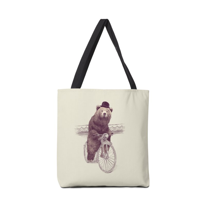 Barnabus the Bear Accessories Bag by ericfan's Artist Shop