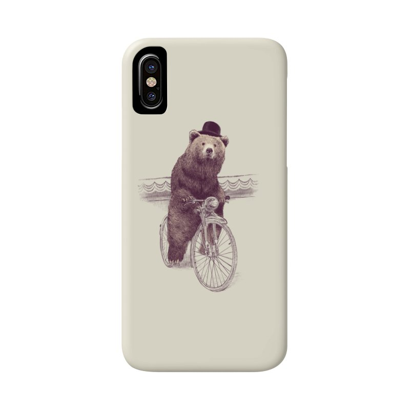 Barnabus the Bear Accessories Phone Case by ericfan's Artist Shop