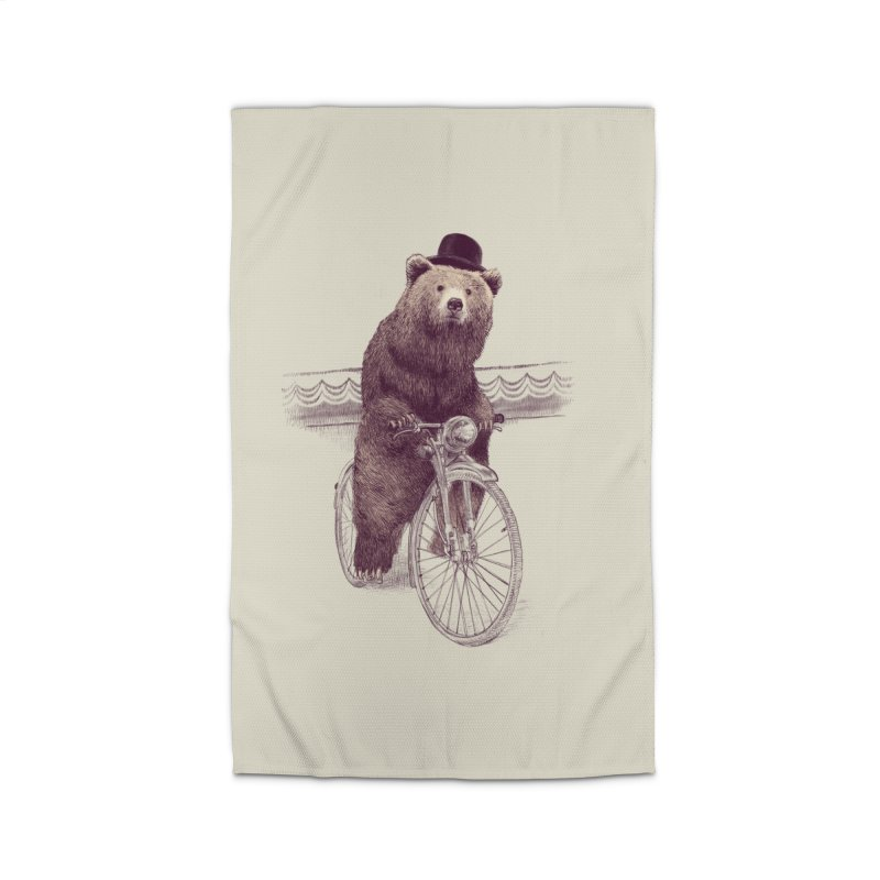 Barnabus the Bear Home Rug by ericfan's Artist Shop