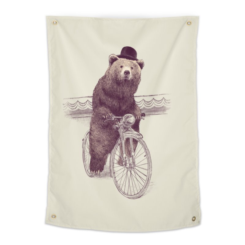 Barnabus the Bear Home Tapestry by ericfan's Artist Shop