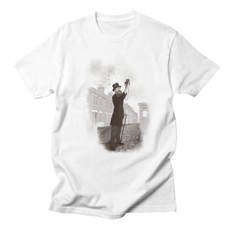 Vintage Selfie Men's T-Shirt by ericfan's Artist Shop