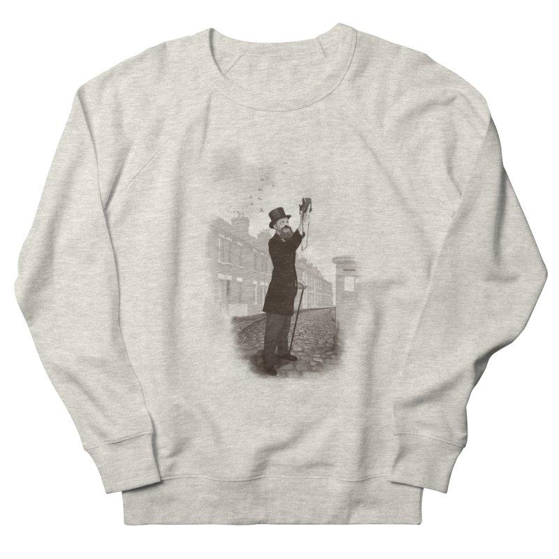 Vintage Selfie Men's French Terry Sweatshirt by ericfan's Artist Shop