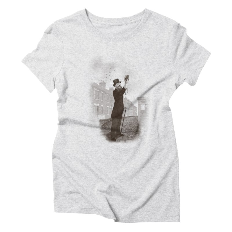 Vintage Selfie Women's Triblend T-Shirt by ericfan's Artist Shop