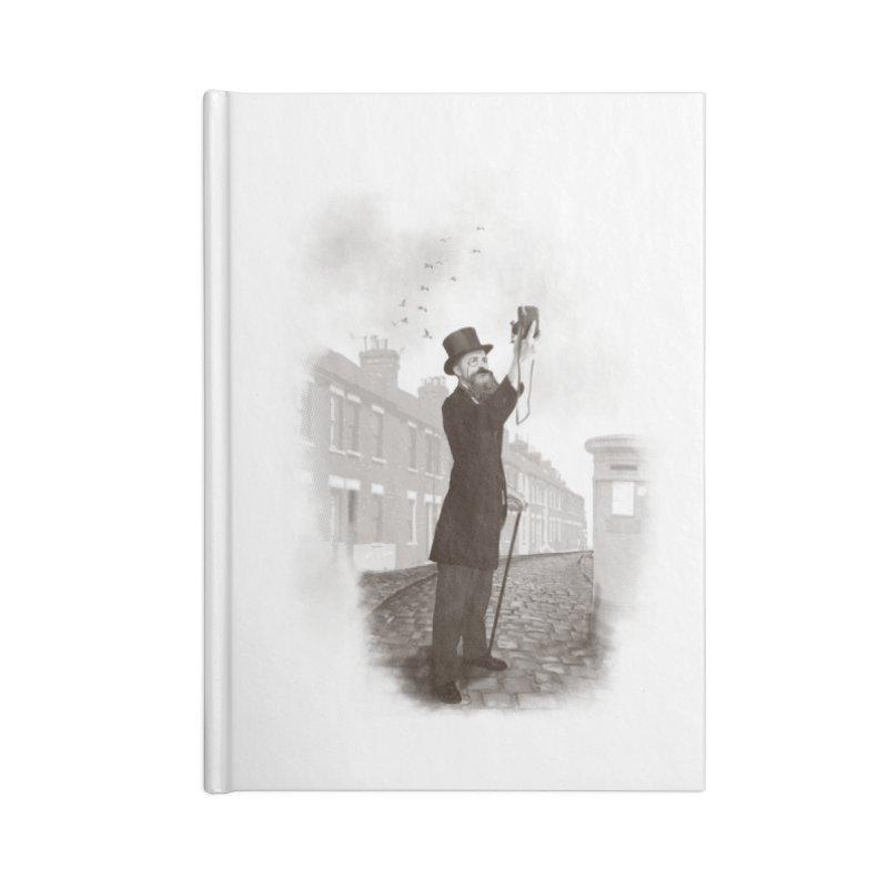 Vintage Selfie Accessories Notebook by ericfan's Artist Shop