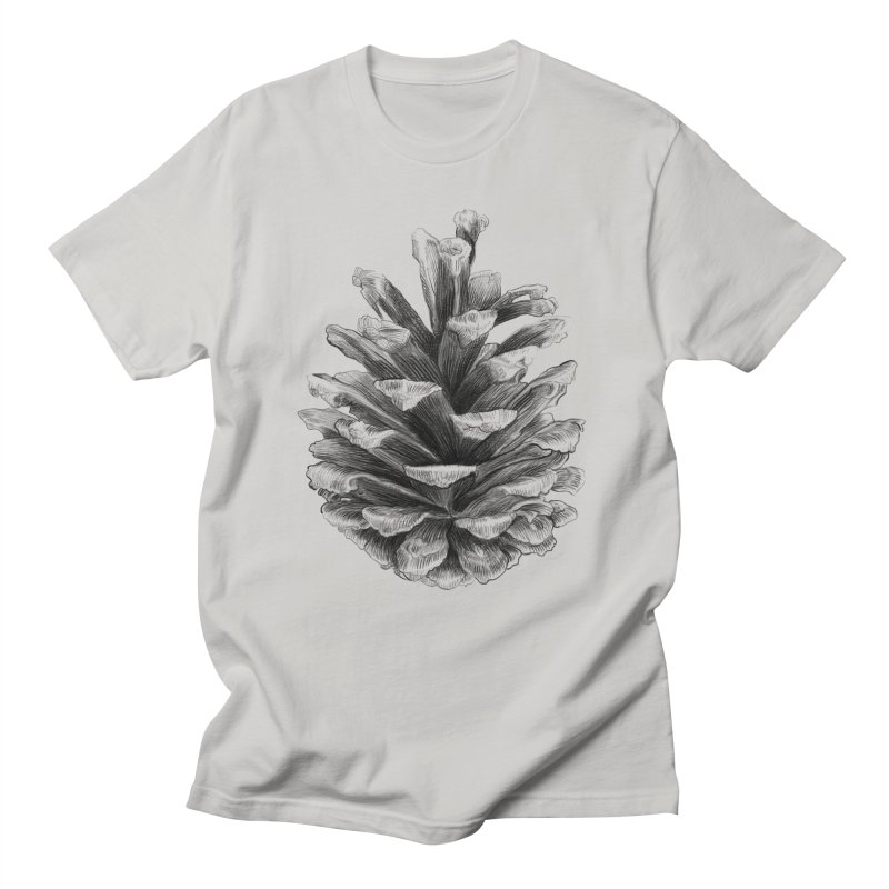 Pine Cone Men's T-shirt by ericfan's Artist Shop