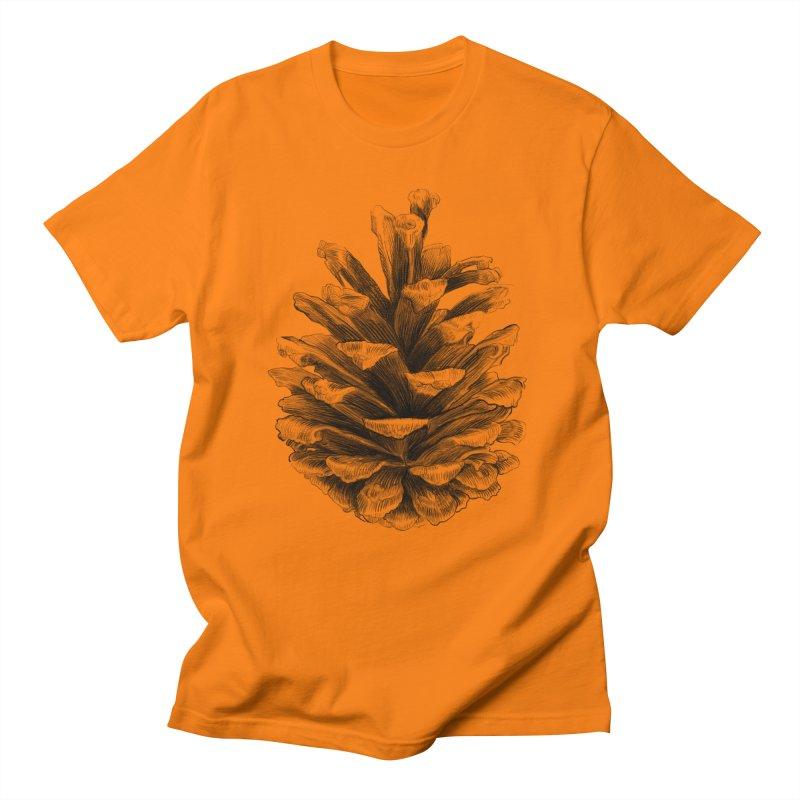 Pine Cone Men's Regular T-Shirt by ericfan's Artist Shop