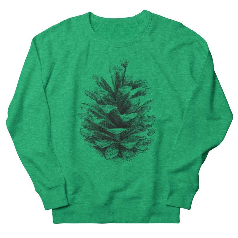 Pine Cone Men's French Terry Sweatshirt by ericfan's Artist Shop