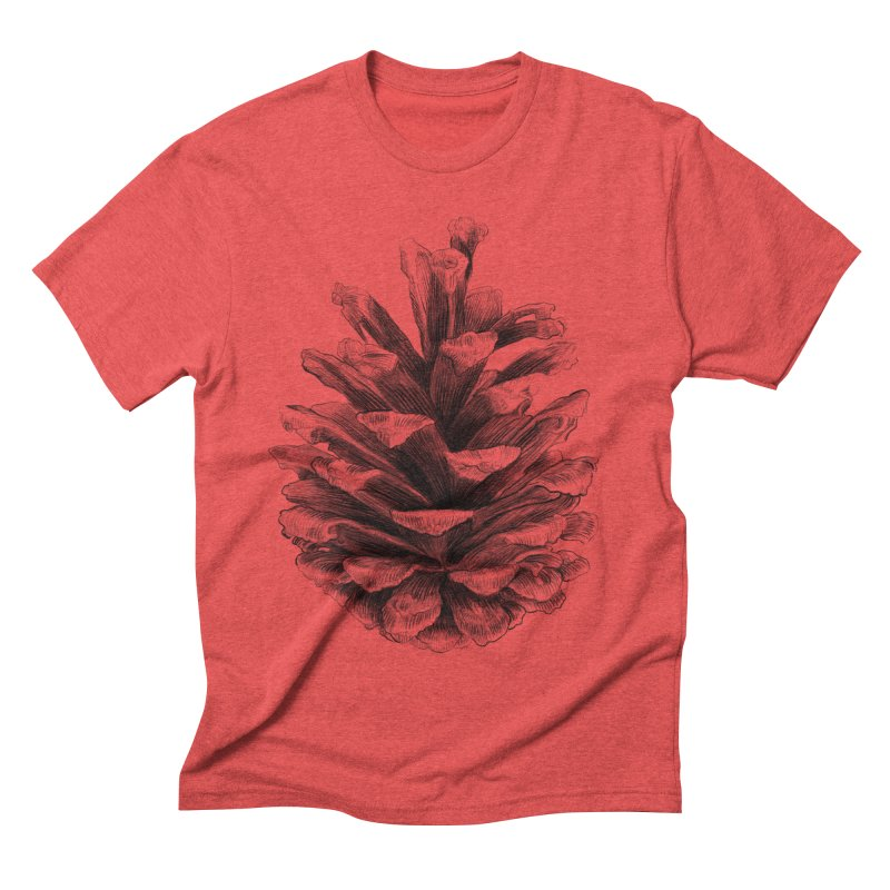 Pine Cone Men's Triblend T-shirt by ericfan's Artist Shop