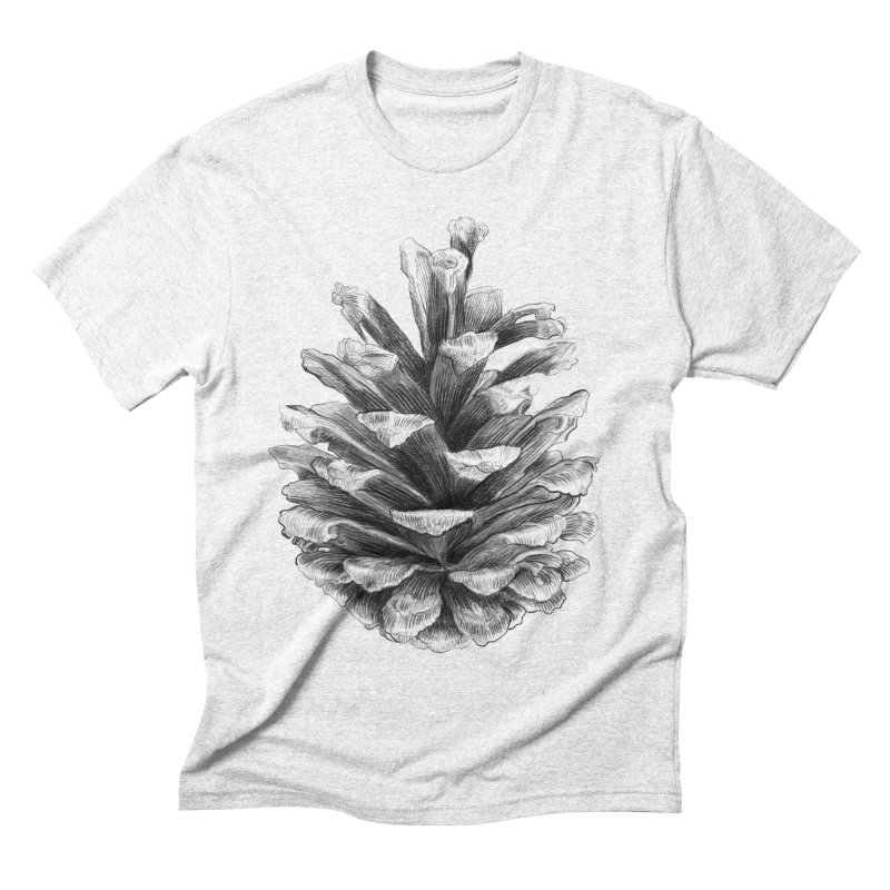 Pine Cone Men's Triblend T-shirt by ericfan's Artist Shop