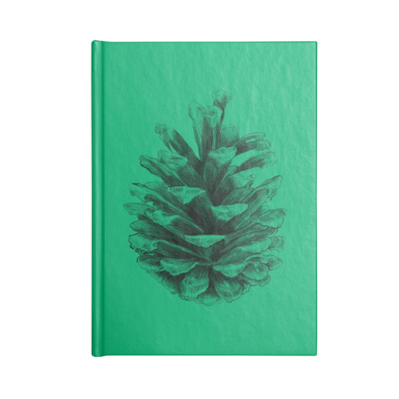 Pine Cone Accessories Notebook by ericfan's Artist Shop
