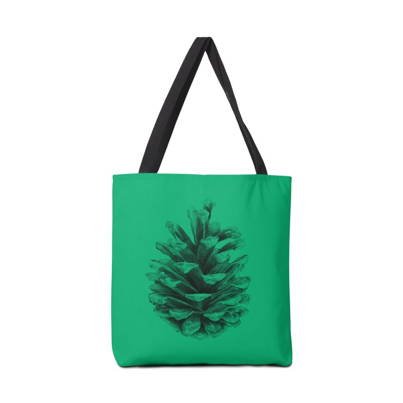 Pine Cone Accessories Bag by ericfan's Artist Shop
