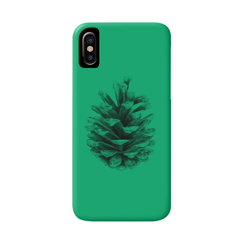 Pine Cone Accessories Phone Case by ericfan's Artist Shop