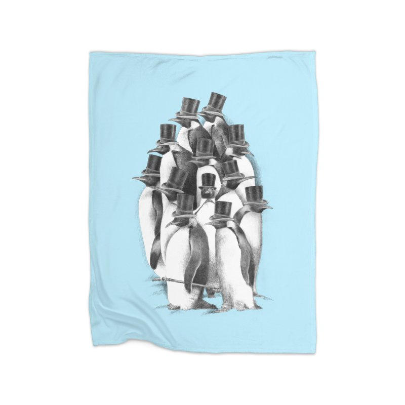 A Gathering of Gentlemen Home Blanket by ericfan's Artist Shop