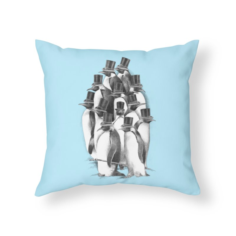 A Gathering of Gentlemen Home Throw Pillow by ericfan's Artist Shop
