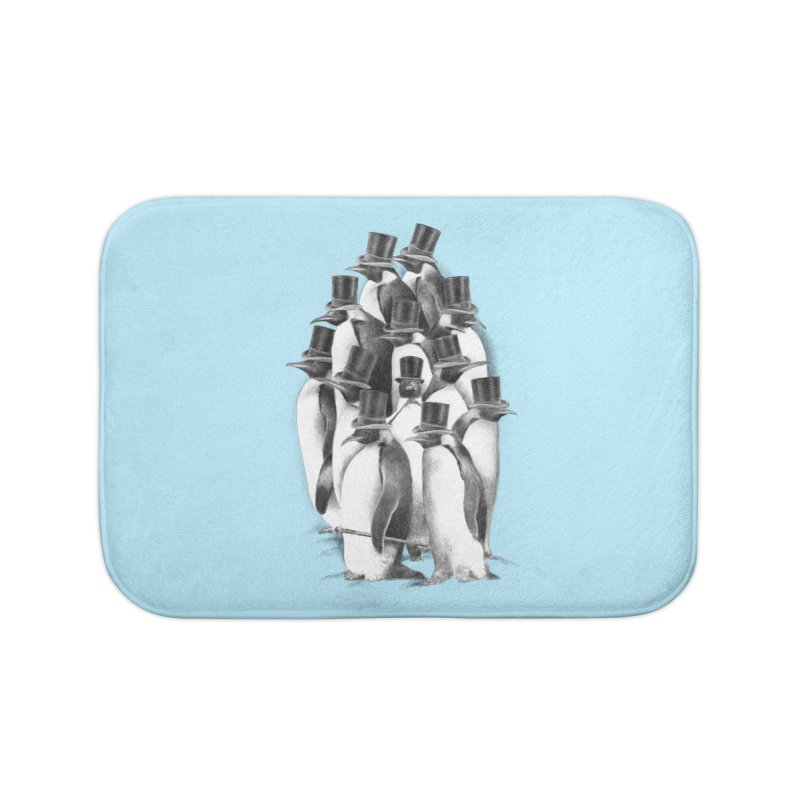 A Gathering of Gentlemen Home Bath Mat by ericfan's Artist Shop