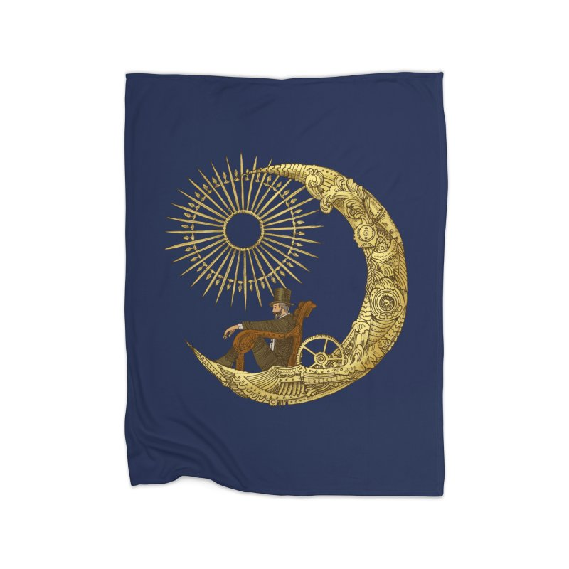 Moon Travel Home Blanket by ericfan's Artist Shop