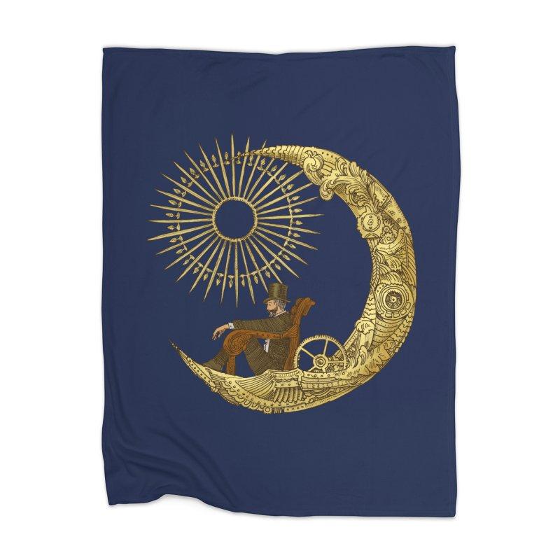 Moon Travel Home Blanket by ericfan's Artist Shop
