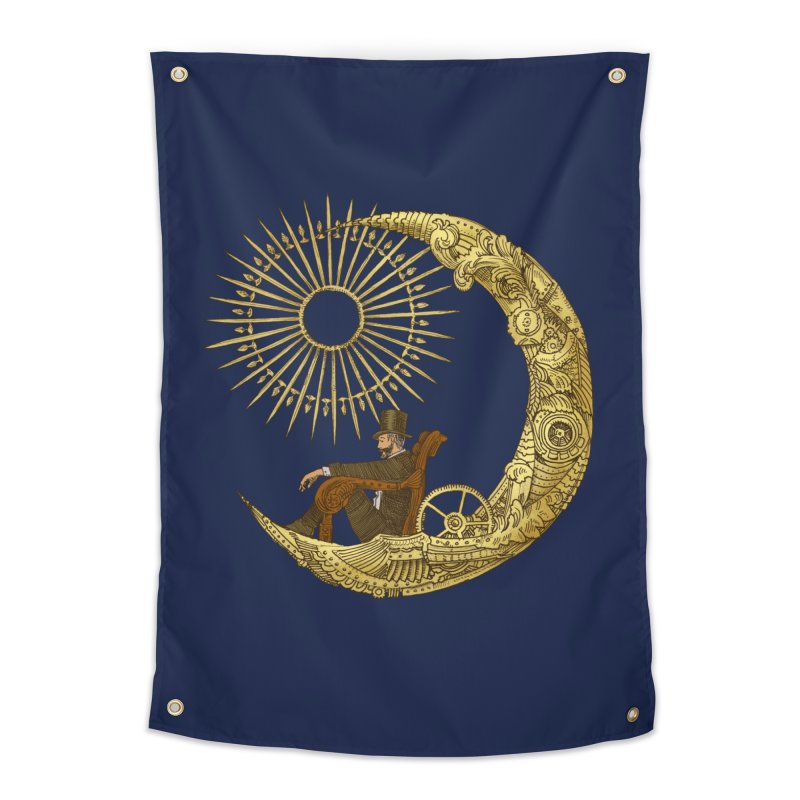 Moon Travel Home Tapestry by ericfan's Artist Shop