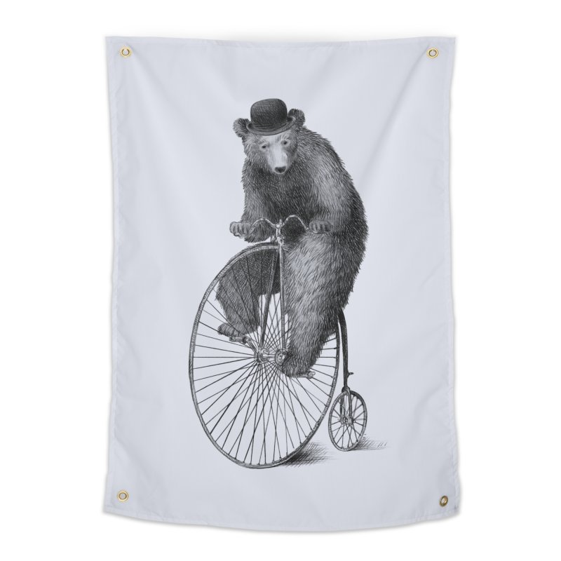 Morning Ride Home Tapestry by ericfan's Artist Shop