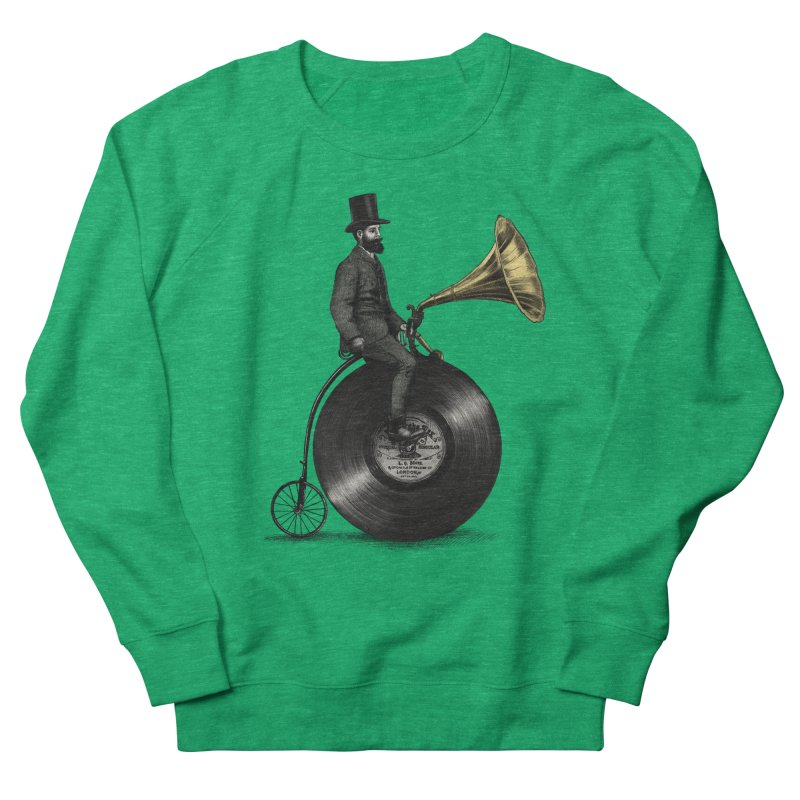 Music Man Men's Sweatshirt by ericfan's Artist Shop