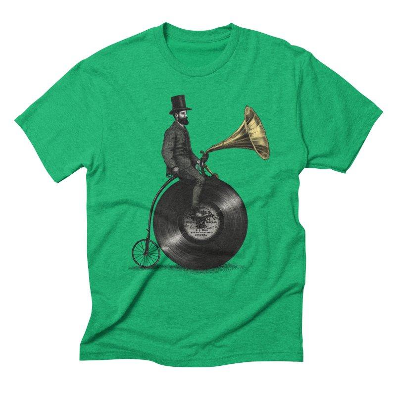 Music Man Men's Triblend T-Shirt by ericfan's Artist Shop