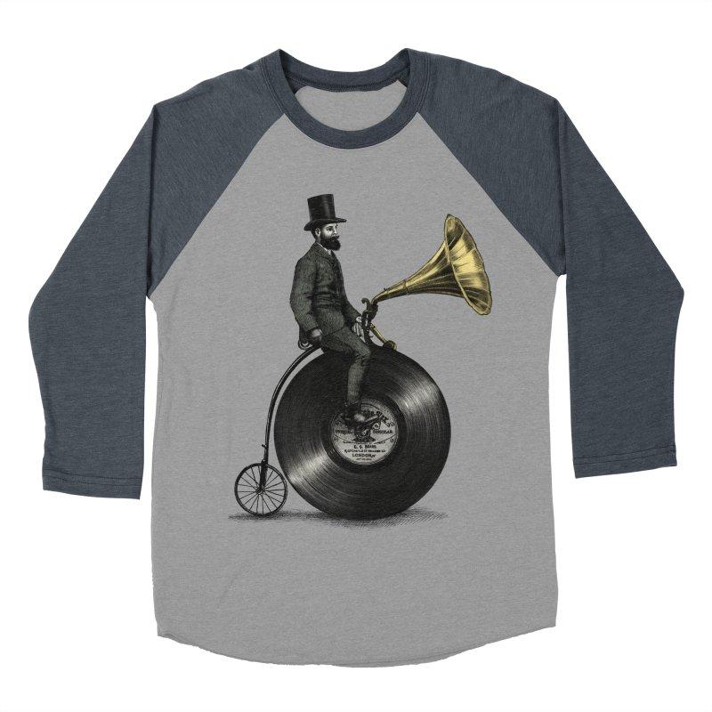 Music Man Women's Baseball Triblend T-Shirt by ericfan's Artist Shop