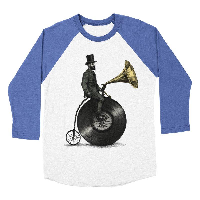 Music Man Men's Baseball Triblend T-Shirt by ericfan's Artist Shop