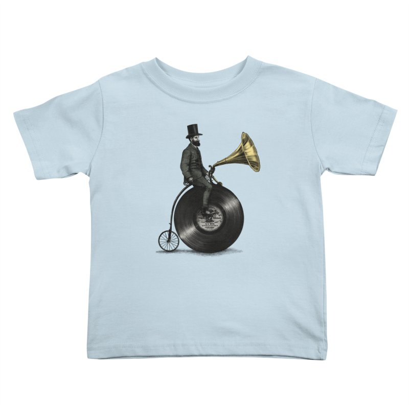 Music Man Kids Toddler T-Shirt by ericfan's Artist Shop