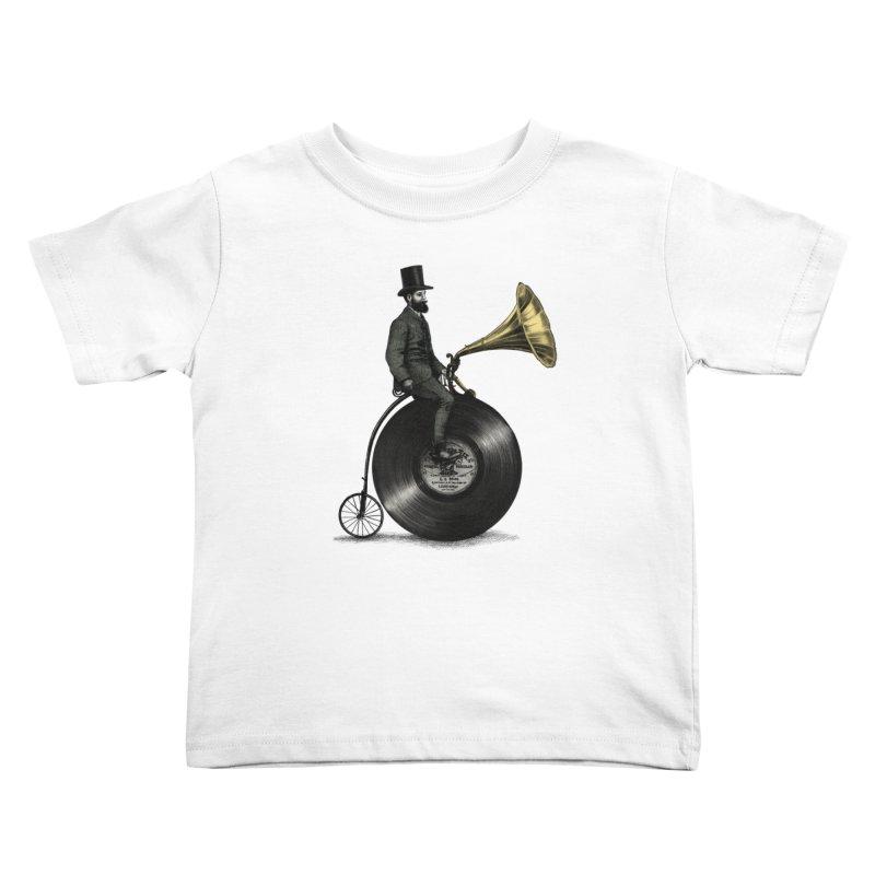 Music Man Kids Toddler T-Shirt by ericfan's Artist Shop