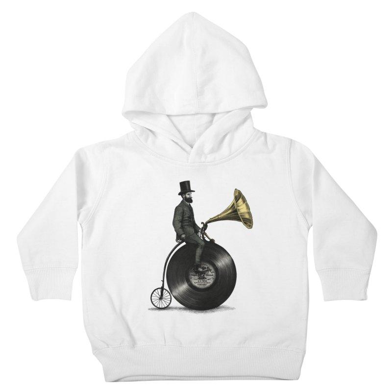 Music Man Kids Toddler Pullover Hoody by ericfan's Artist Shop