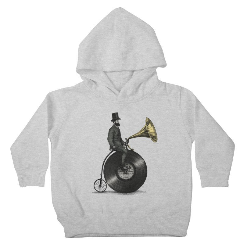 Music Man Kids Toddler Pullover Hoody by ericfan's Artist Shop