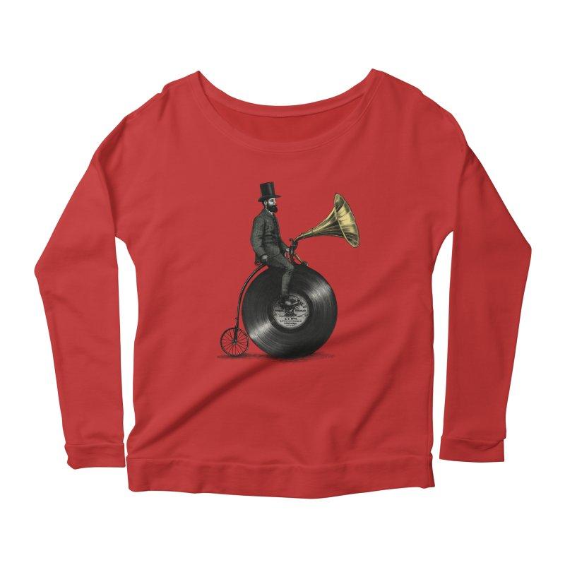 Music Man Women's Longsleeve T-Shirt by ericfan's Artist Shop