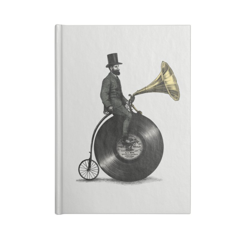 Music Man Accessories Notebook by ericfan's Artist Shop