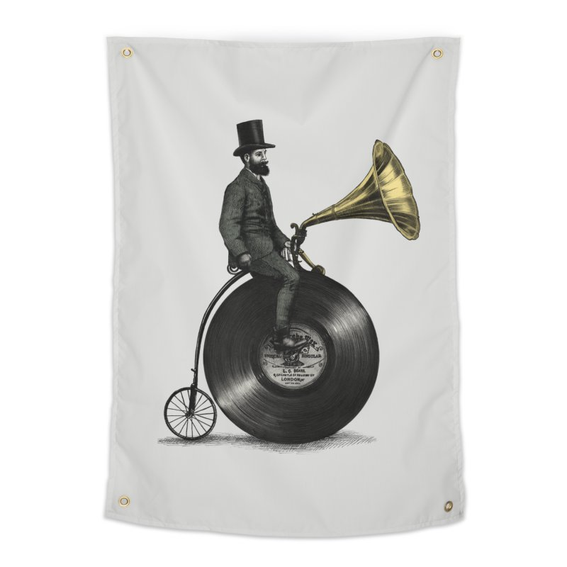Music Man Home Tapestry by ericfan's Artist Shop