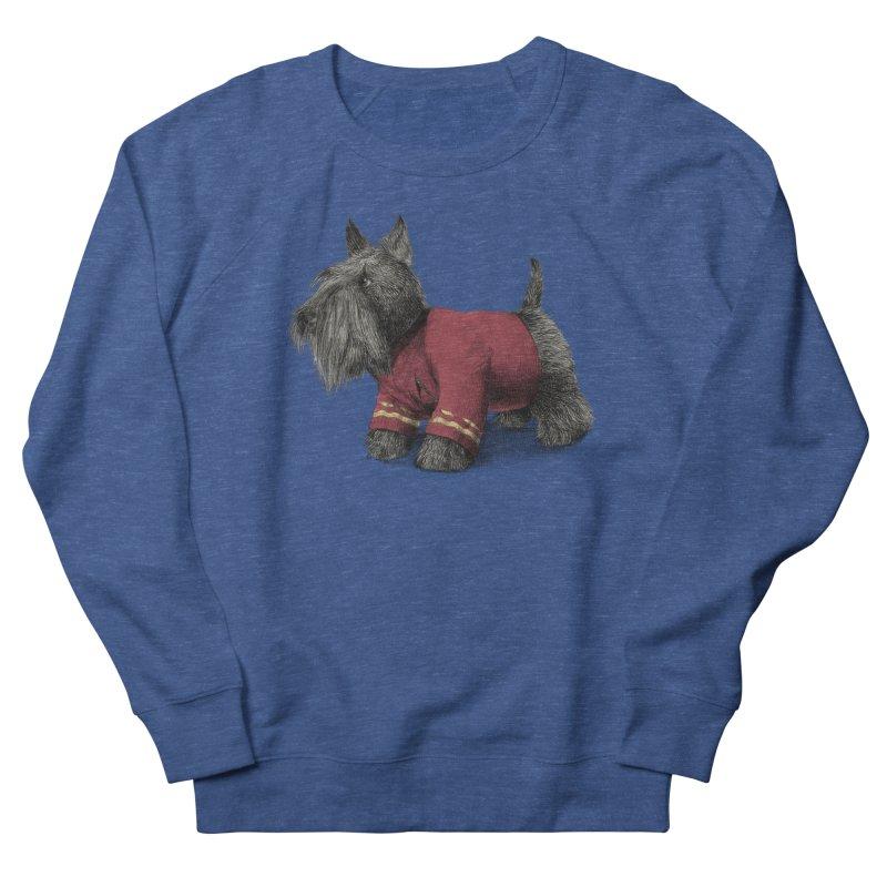 Scotty Men's French Terry Sweatshirt by ericfan's Artist Shop