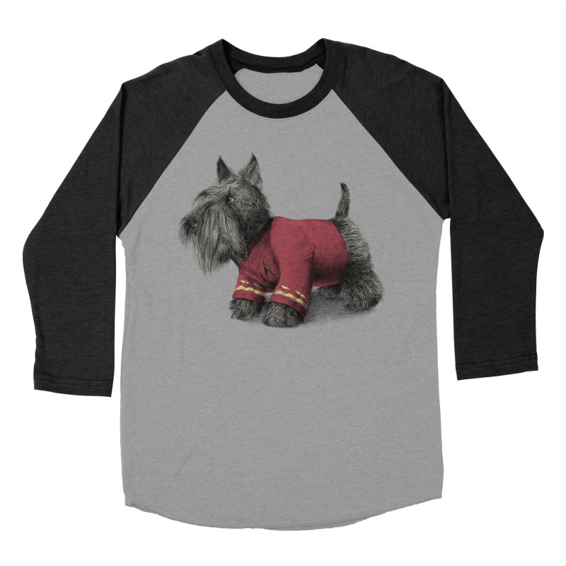 Scotty Women's Baseball Triblend T-Shirt by ericfan's Artist Shop