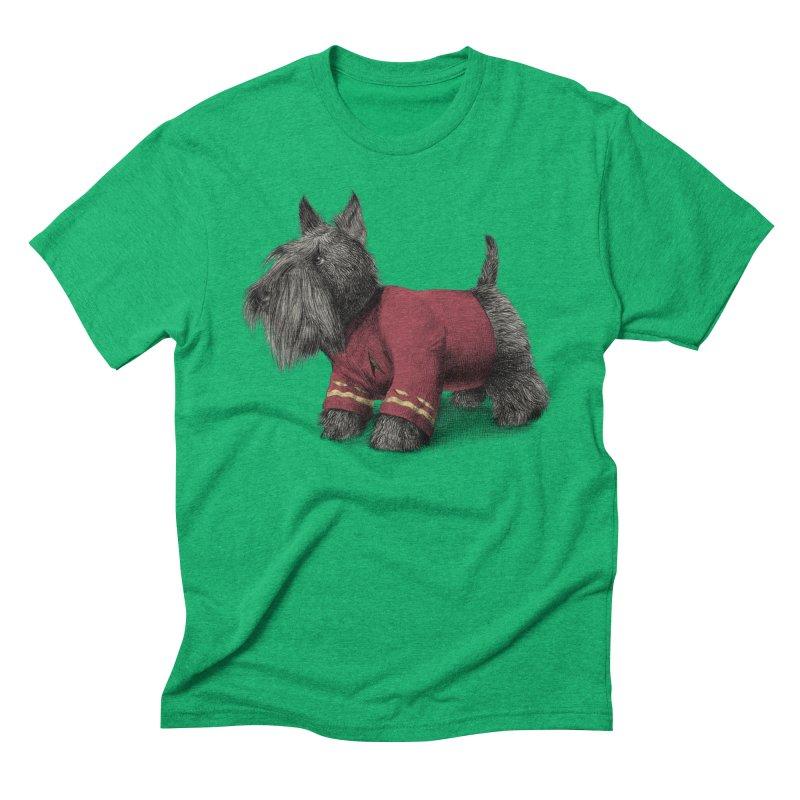 Scotty Men's Triblend T-shirt by ericfan's Artist Shop