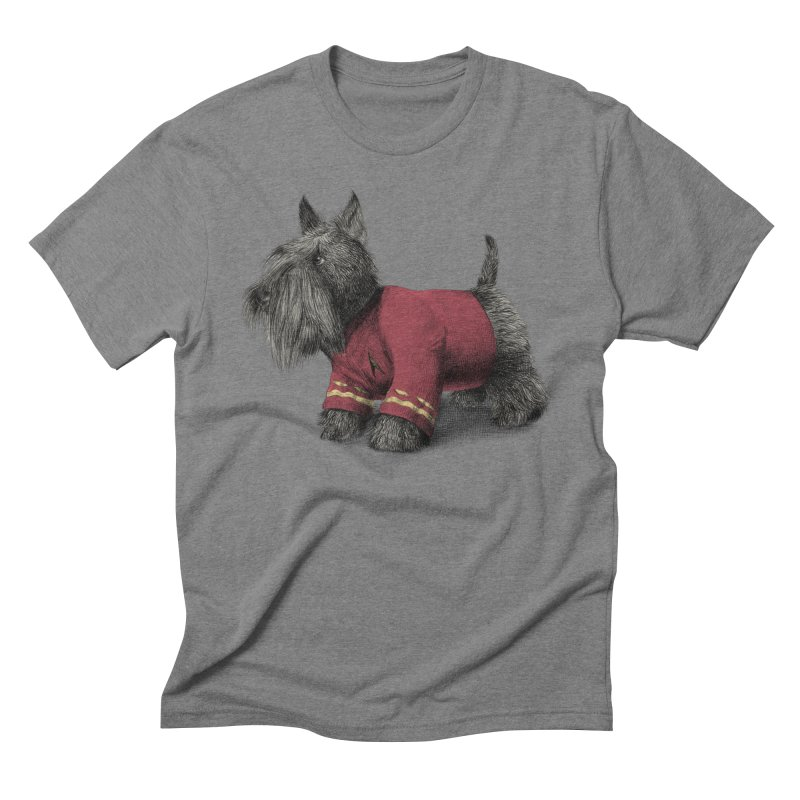 Scotty Men's Triblend T-shirt by ericfan's Artist Shop