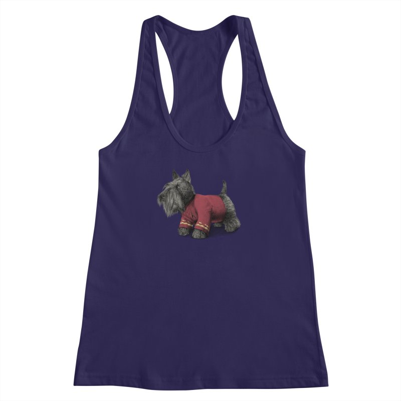 Scotty Women's Racerback Tank by ericfan's Artist Shop