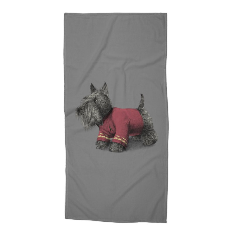 Scotty Accessories Beach Towel by ericfan's Artist Shop