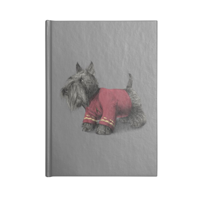 Scotty Accessories Notebook by ericfan's Artist Shop