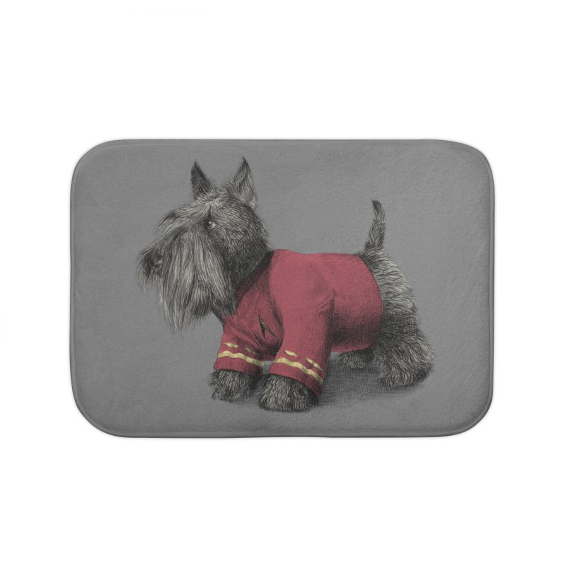 Scotty Home Bath Mat by ericfan's Artist Shop