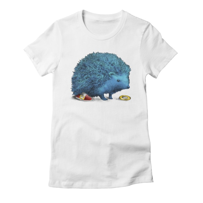 Supersonic Women's Fitted T-Shirt by ericfan's Artist Shop